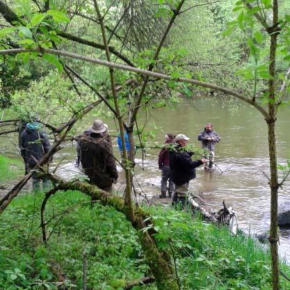 Guiding Fliegenfischerschule Bodensee Oberschwaben Fliegenfischerkurs