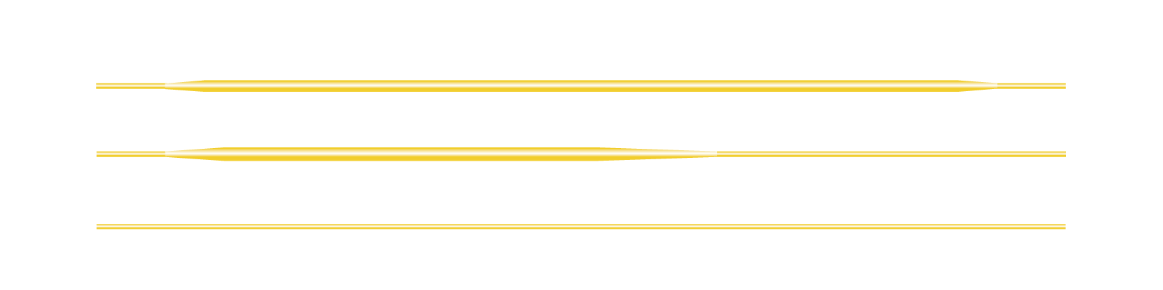Fliegenschnur WF weight Forward DT Double Taper LL Parallel Line Running Line